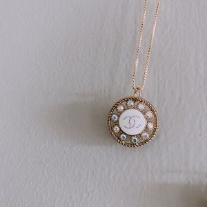 Authentic Iridescent Chanel necklace